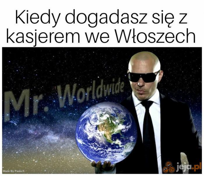Jestem taki światowy