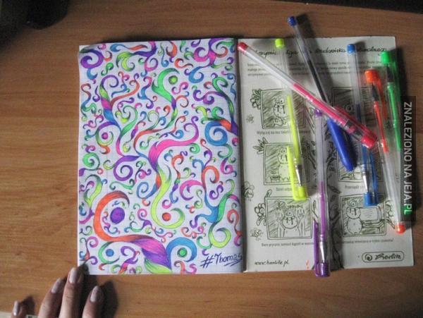 Gdy lekcje są naprawdę nudne...