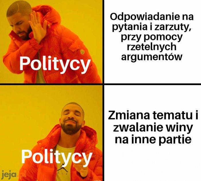 Logiczna argumentacja? To jakaś ideologia?
