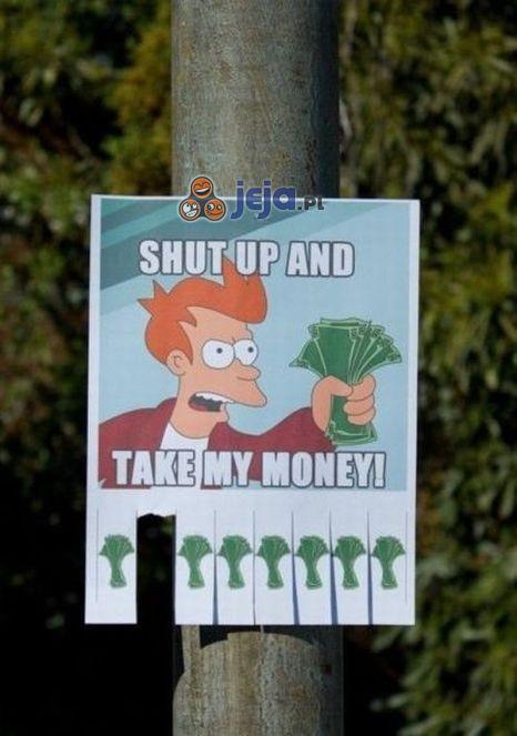 Zabierz moje pieniądze!