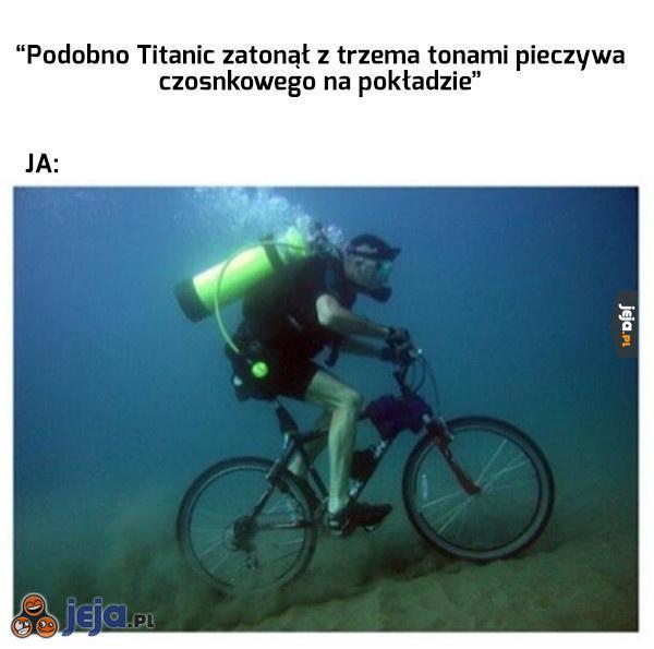 Titanic i pieczywo czosnkowe