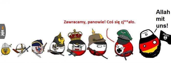 Ewolucja Niemiec