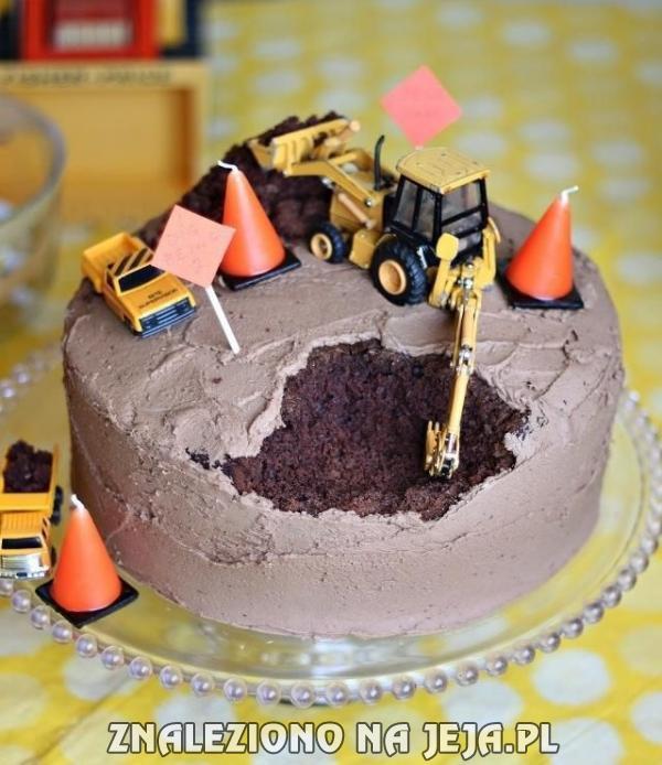 Ciasto dla drogowca