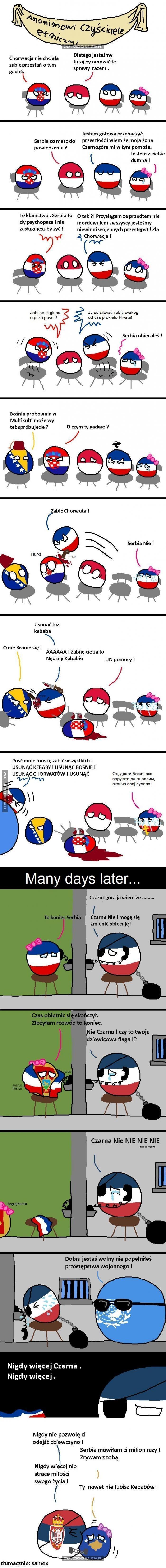 """Serbia i problemy z """"Czarną"""""""