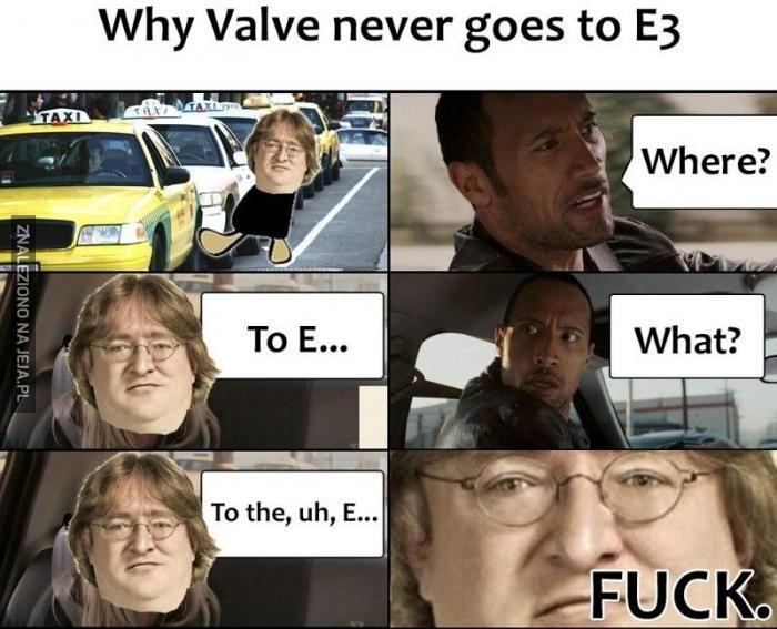 Dlaczego Valve nie jeździ na E3
