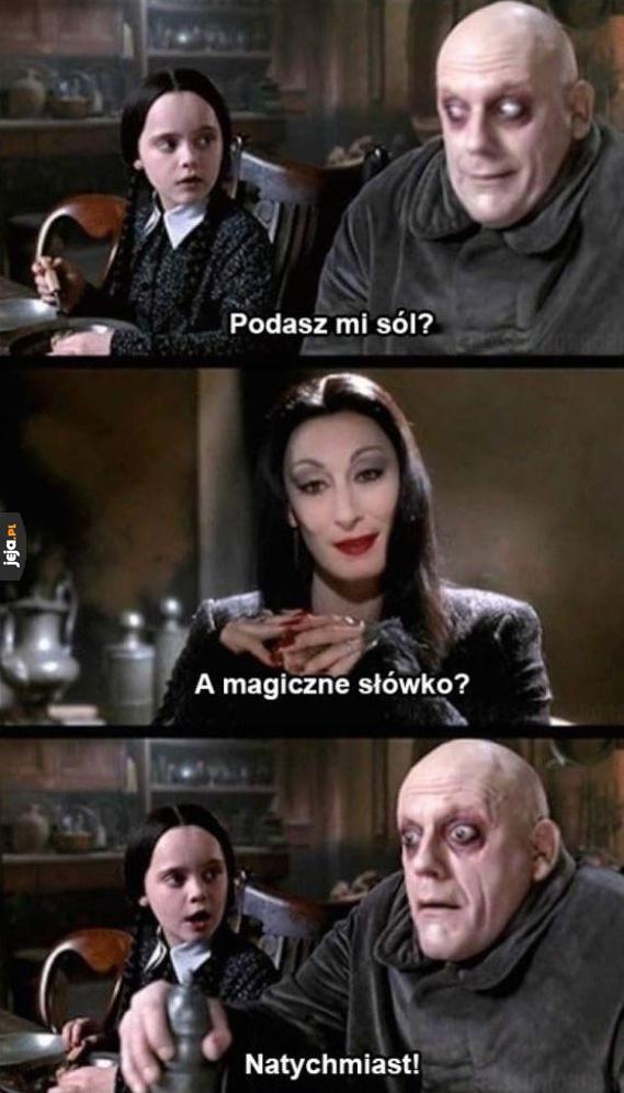 Pamiętacie jeszcze rodzinkę Addamsów?