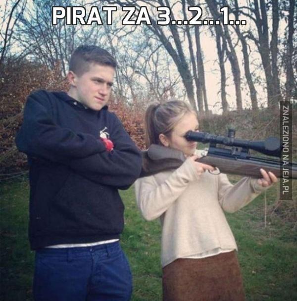 Pirat za 3...2...1...