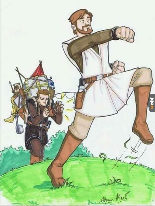 Monty Python i Gwiezdne Wojny