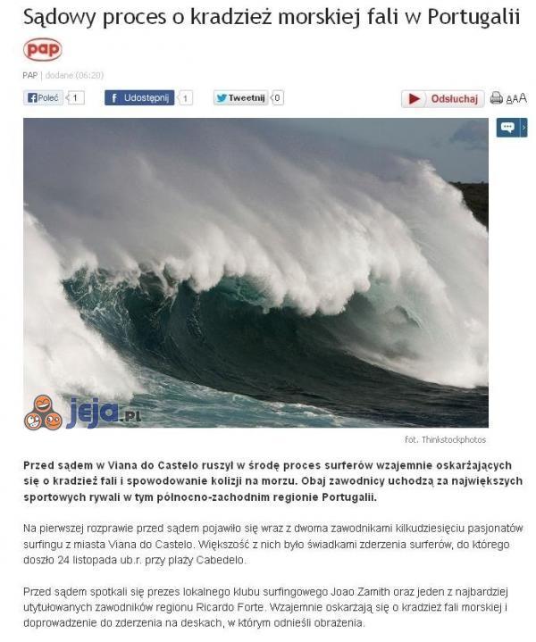 Ciekawy proces w Portugalii