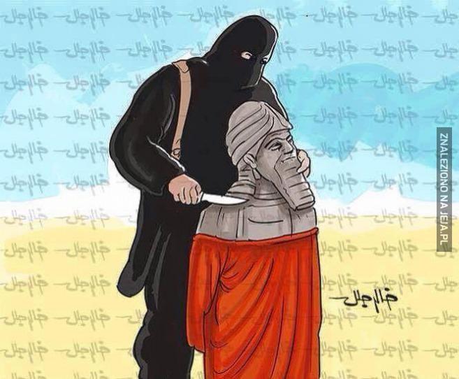 ISIS niszczy artefakty sprzed 6000 lat...