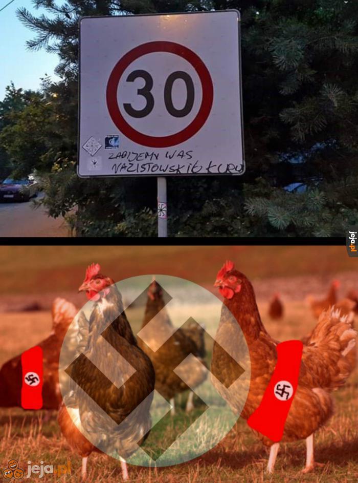 Nazistowskie kury