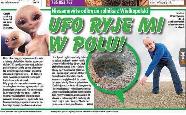 Niesamowite odkrycie rolnika z Wielkopolski