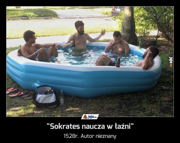 """""""Sokrates naucza w łaźni"""""""