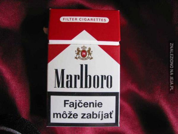 A gdyby w Polsce sprzedawano papierosy z czeskimi ostrzeżeniami