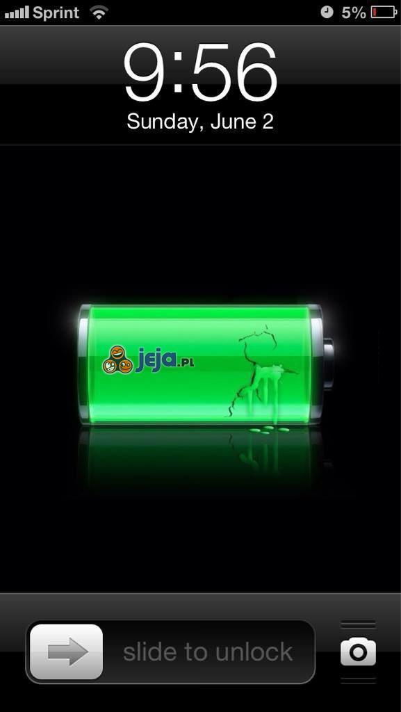 Stan baterii: wyciekła