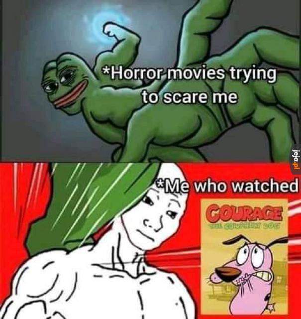 Ja już się horrorów nie boję
