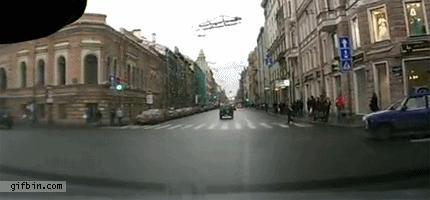 Fail na drodze