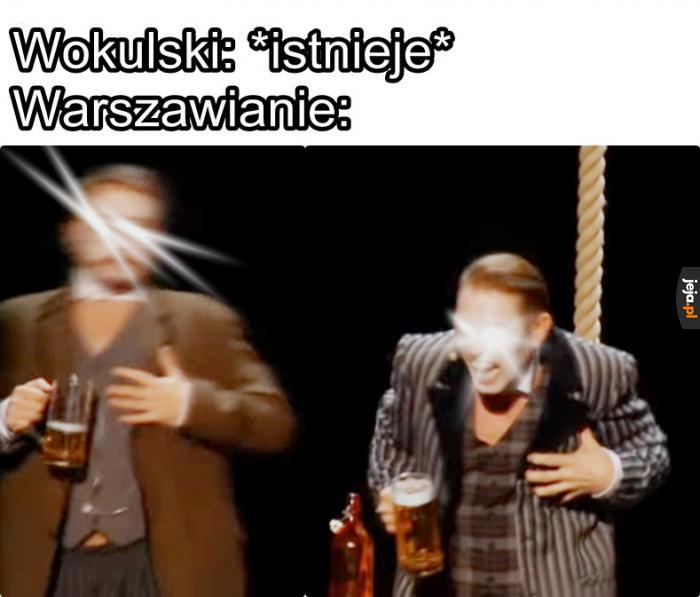 Wokulski to wariat