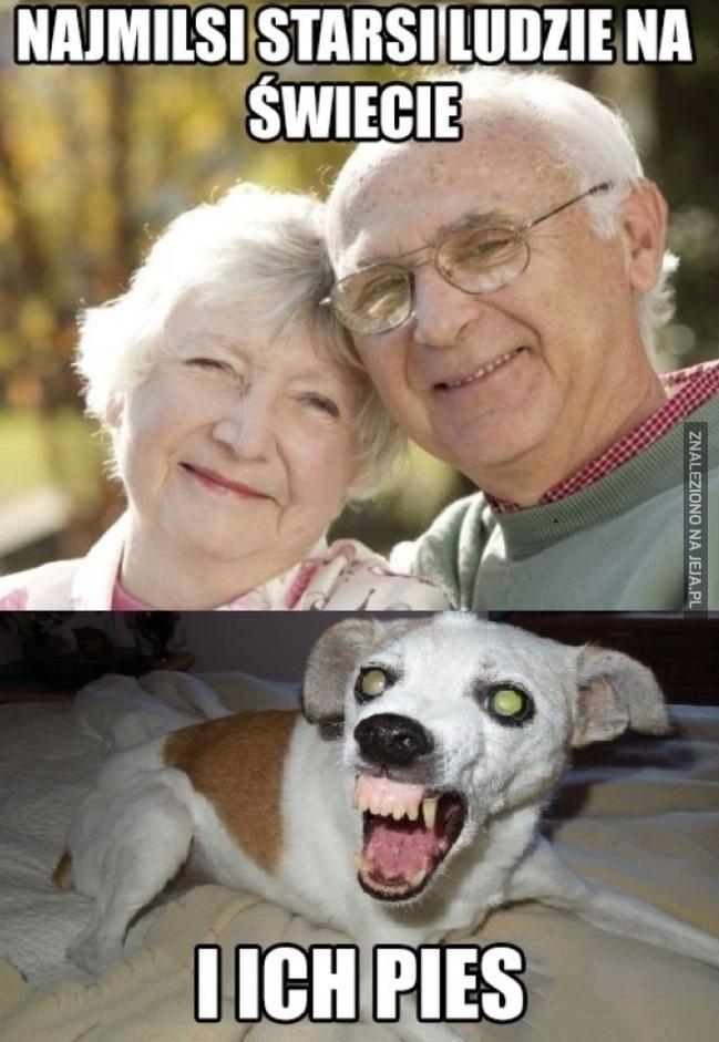Miłe, starsze małżeństwo