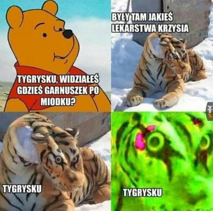Tygrysku?