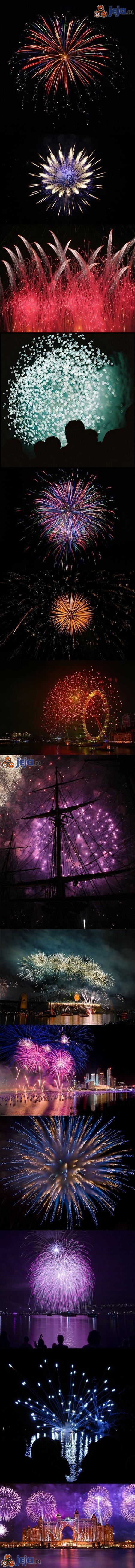 Fajerwerki noworoczne