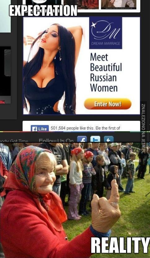 Przepiękne rosyjskie kobiety