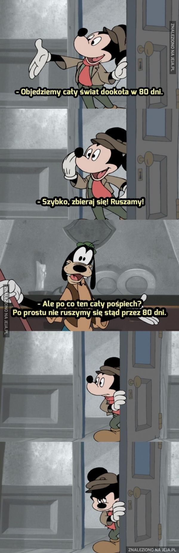 Goofy, ty cholerny geniuszu!