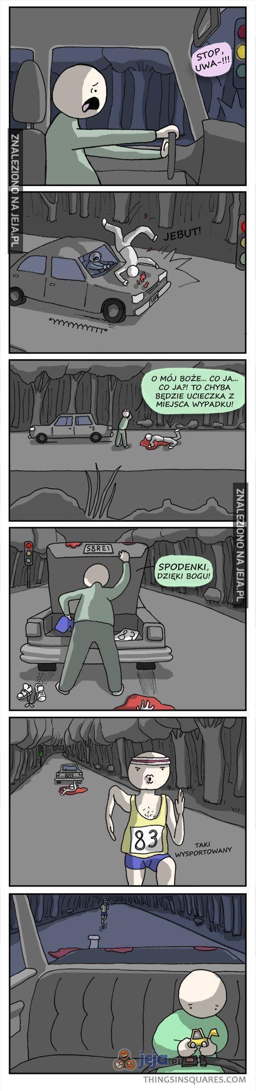 Ucieczka z miejsca wypadku
