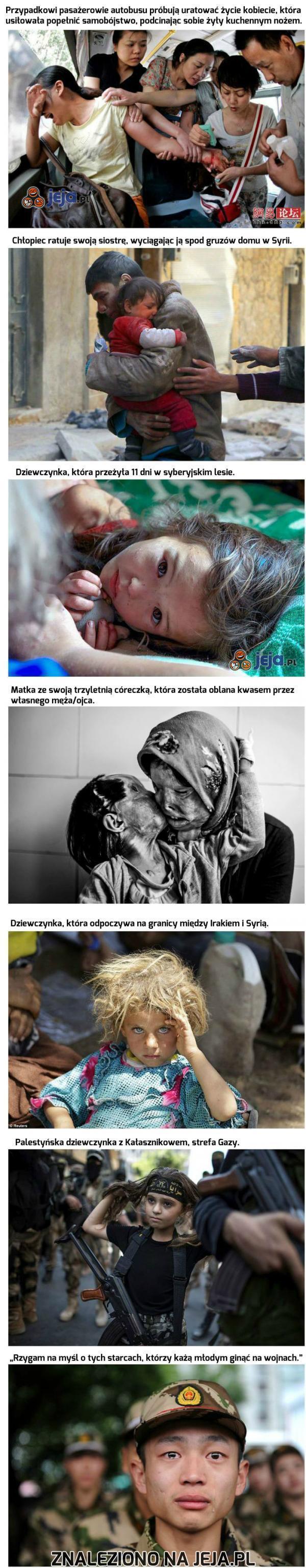 Niech te zdjęcia otworzą Ci oczy...