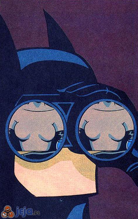 Batman zobaczył coś ciekawego