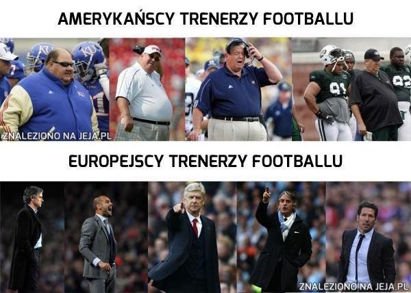 Amerykańscy i europejscy trenerzy