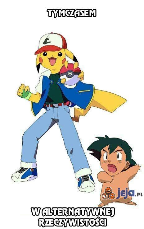Pokemon - zamiana twarzy