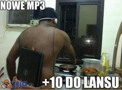 A czy ty masz już nowe mp3?