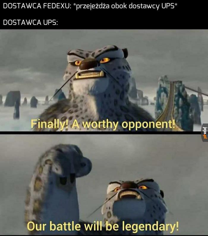 Nie toleruję konkurencji