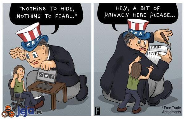 Dwa oblicza amerykańskiej prywatności