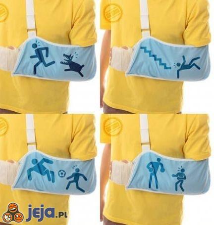 """""""Jak złamałeś rękę?"""""""