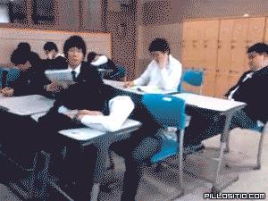 Pobudka na lekcji