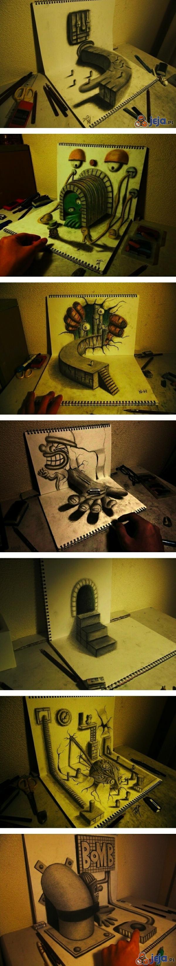 Narysowana iluzja