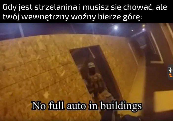 Nie biegać po korytarzach!