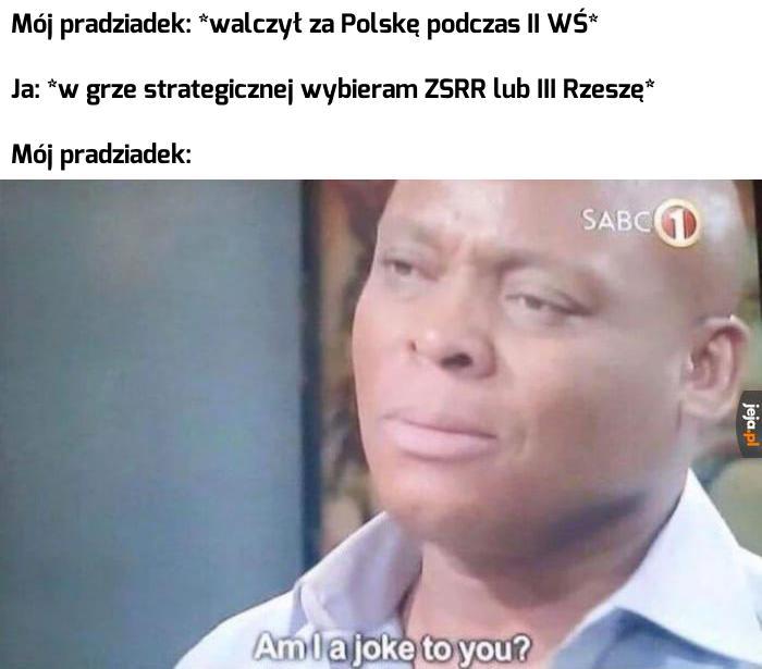 Nie o taką Polskę walczyłem!