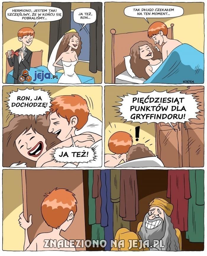Wszystko przez tę Hermionę!