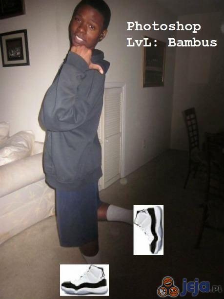 Photoshop lvl: Bambus