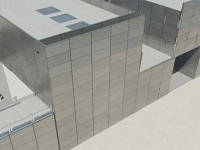 Kompaktowy budynek