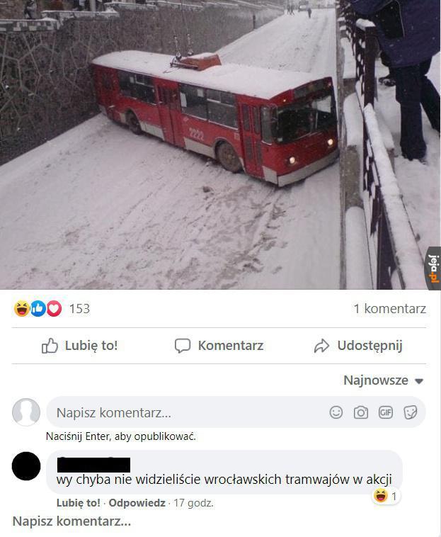 Ruski kanał vs wrocławskie tramwaje