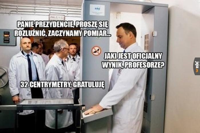Pomiary Andrzeja