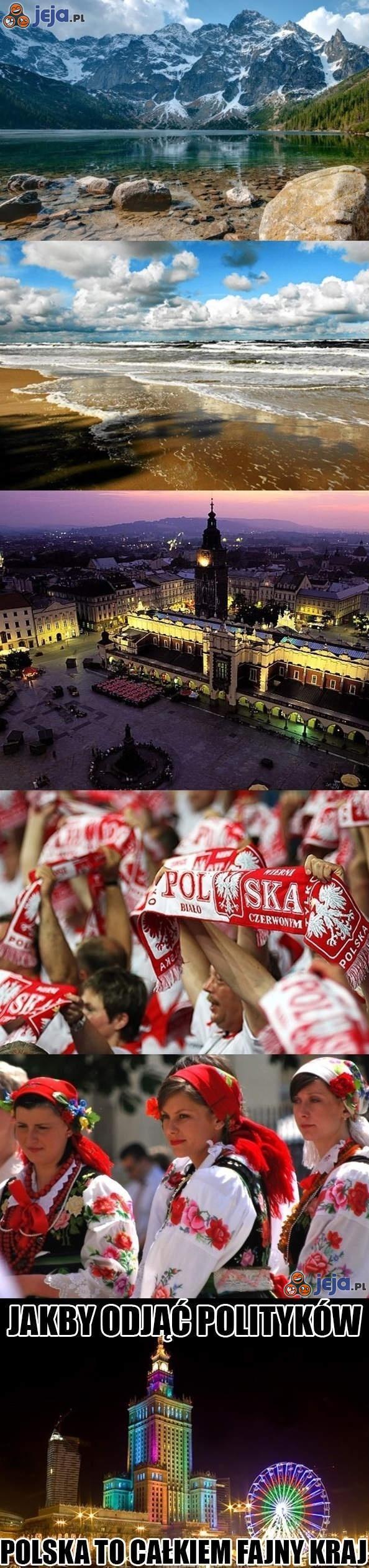 Polska to całkiem fajny kraj