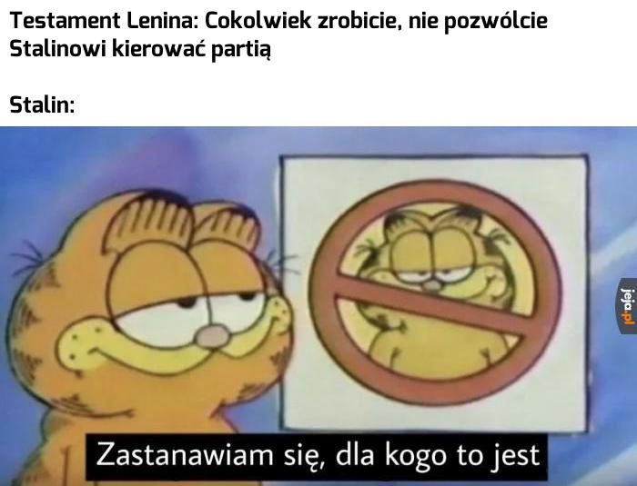 Ach, ten Stalin
