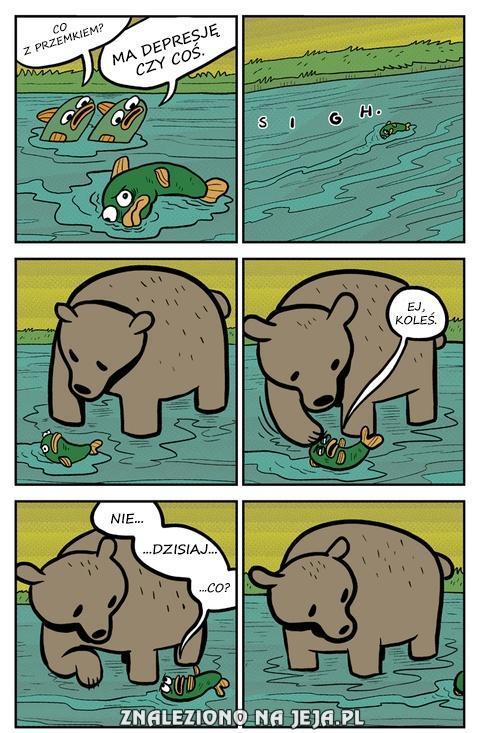 Depresja ryby