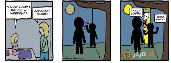 A Ty co zobaczyłeś na drugim panelu?