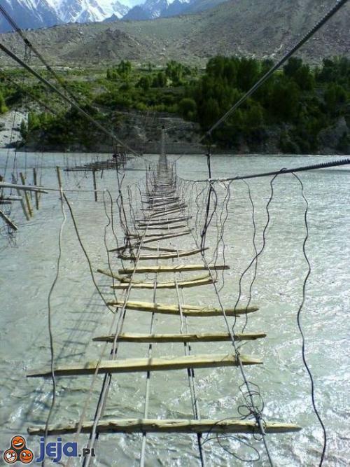 Most dla hardkorów